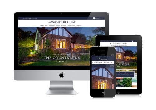 Bed & Breakfast website design