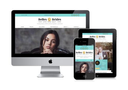 Make Up Artist website design